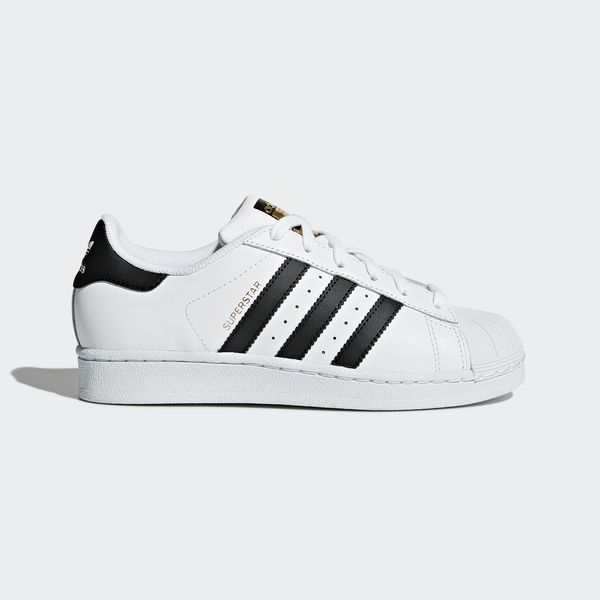 adidas superstar black and white size 4.5