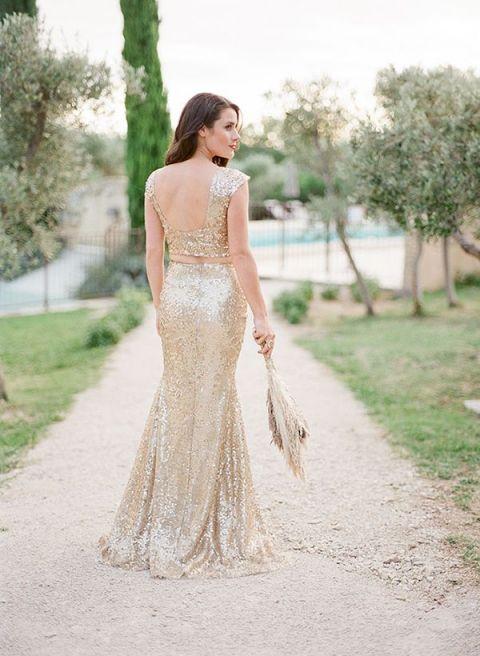 Fab Bridal Alternatives To The White Wedding Dress