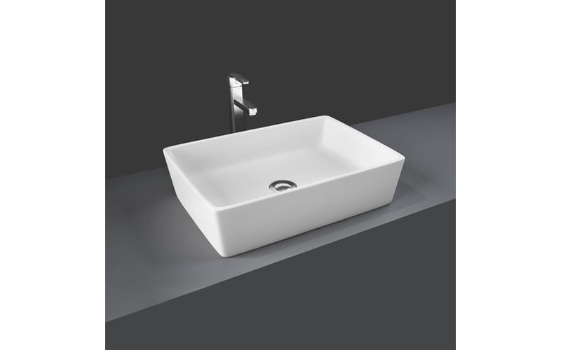 Rak Ceramics Harmony Rectangular Table Top Wash Basin Wash Basin Rectangular Table Basin