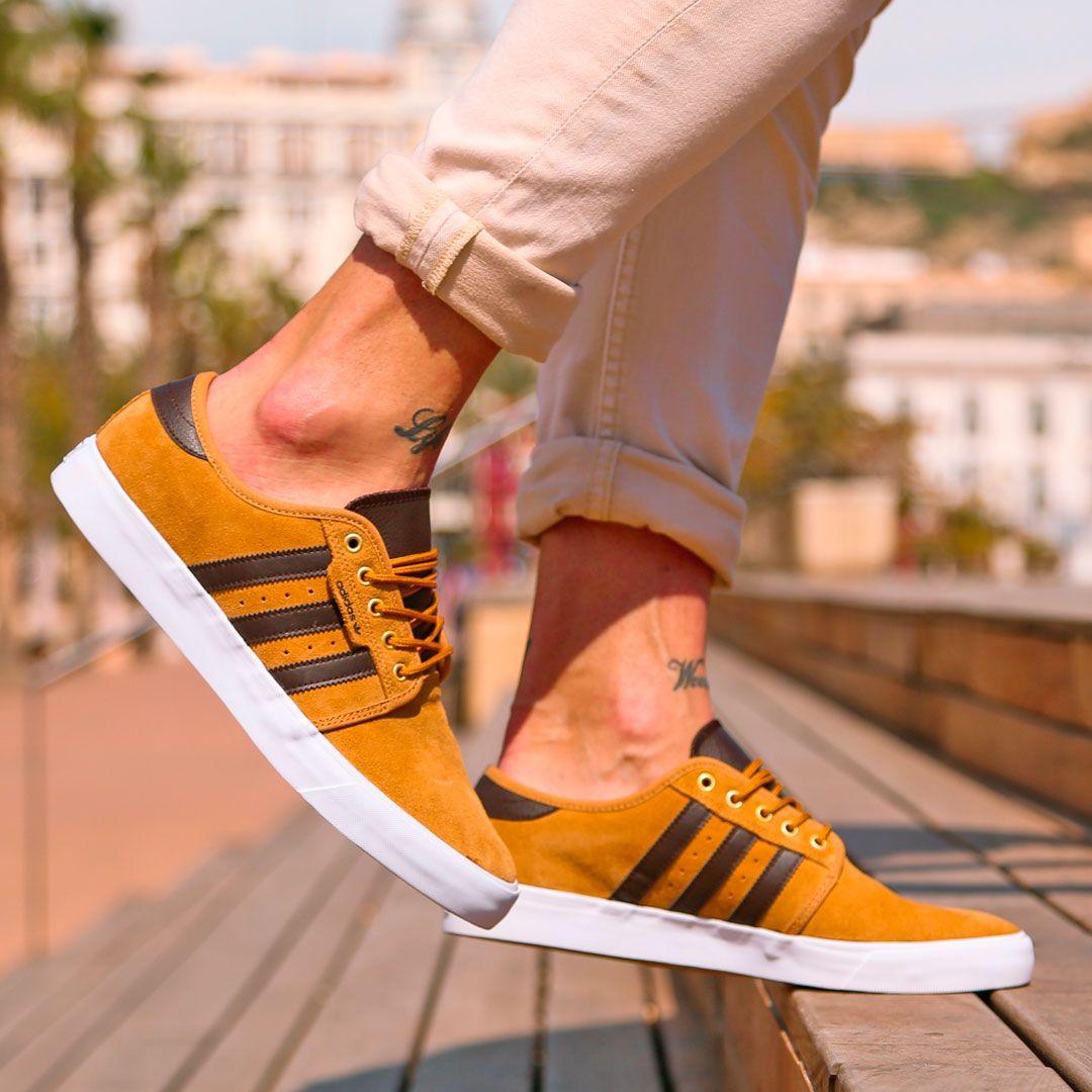 zapatillas amarillas adidas hombre