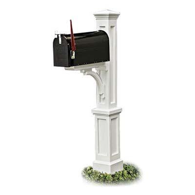 Decorative Mailbox Posts Decor Home Depot Home