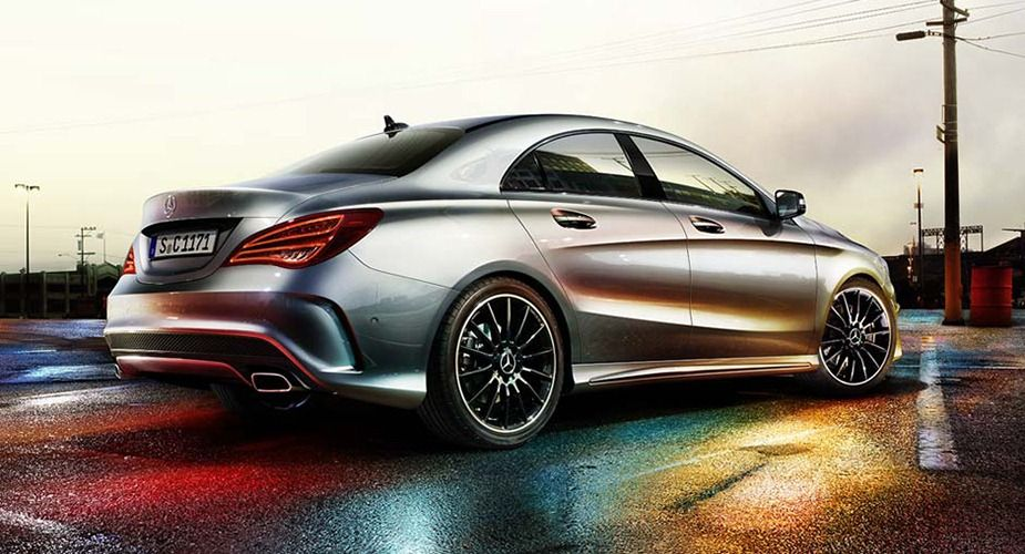 This Is The New Mercedes Benz Cla Compact Sports Saloon With