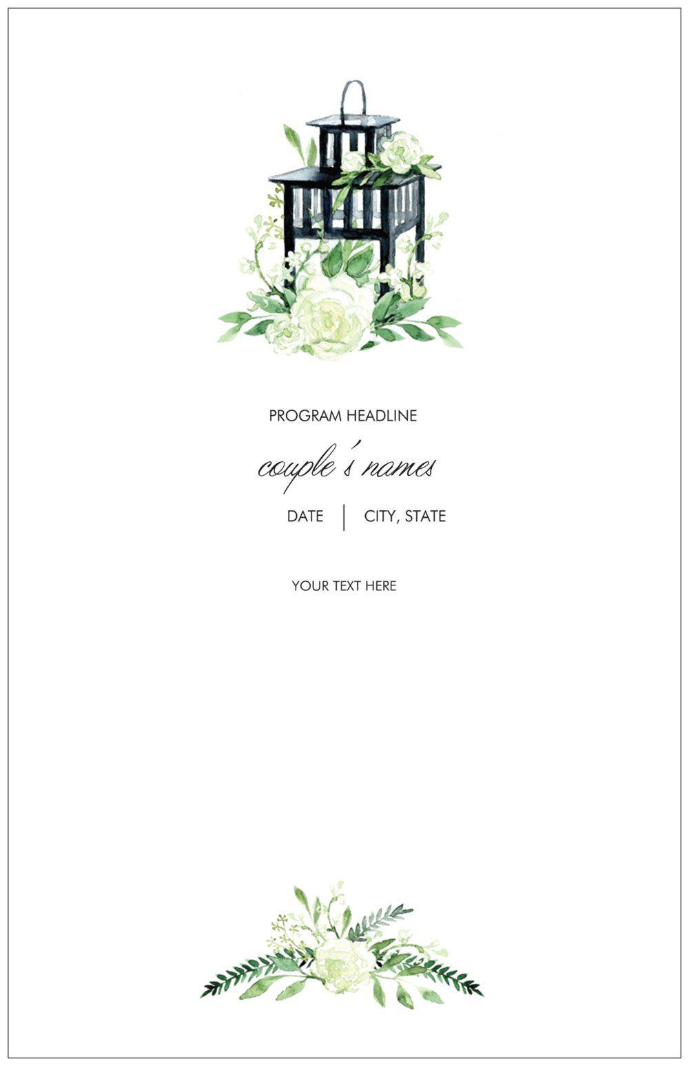 Vistaprint Wedding Programs.Wedding Programs K K Wedding Programs Wedding Reception