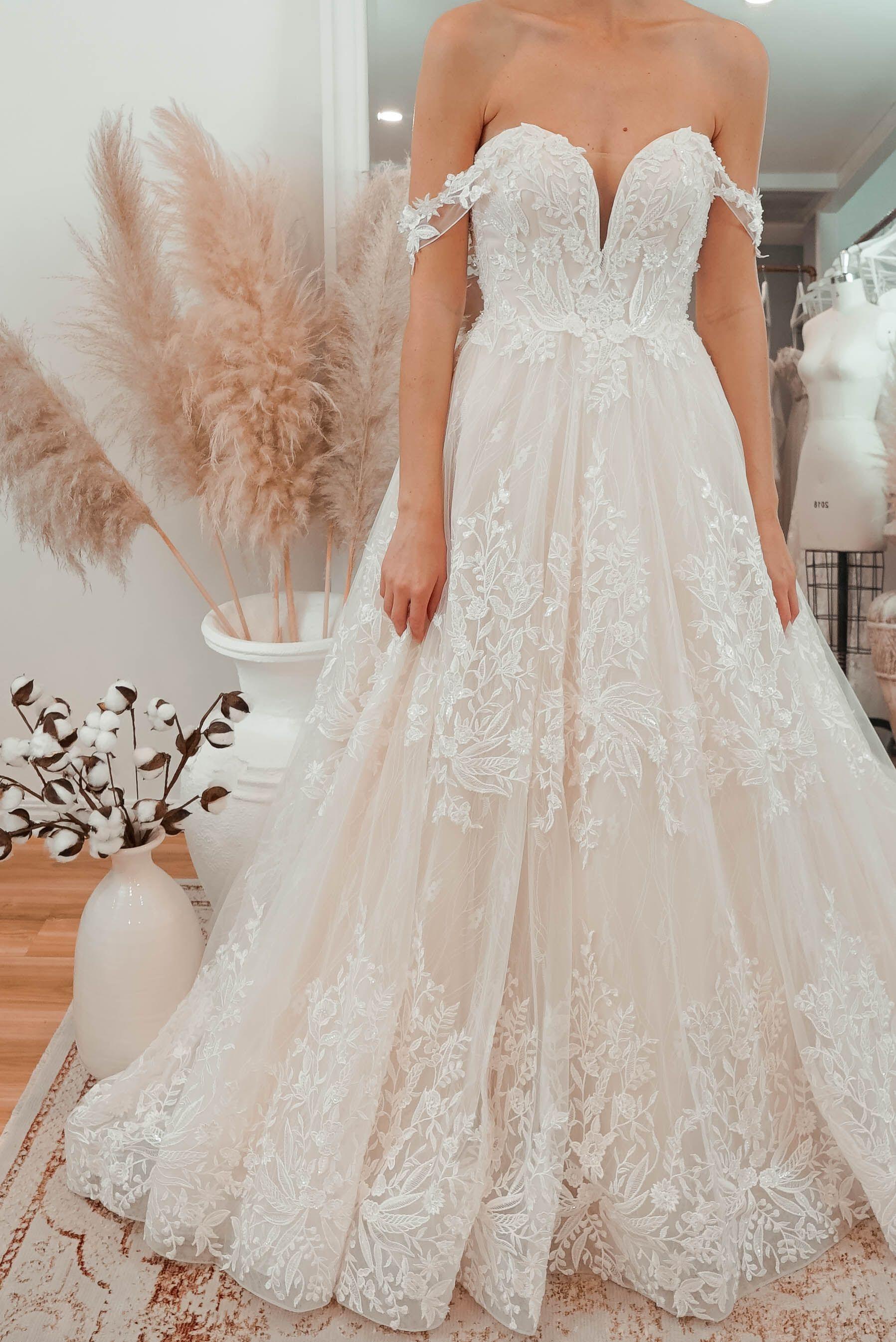Havilah Delicate Wedding Dress Wedding Dresses Lace Australian
