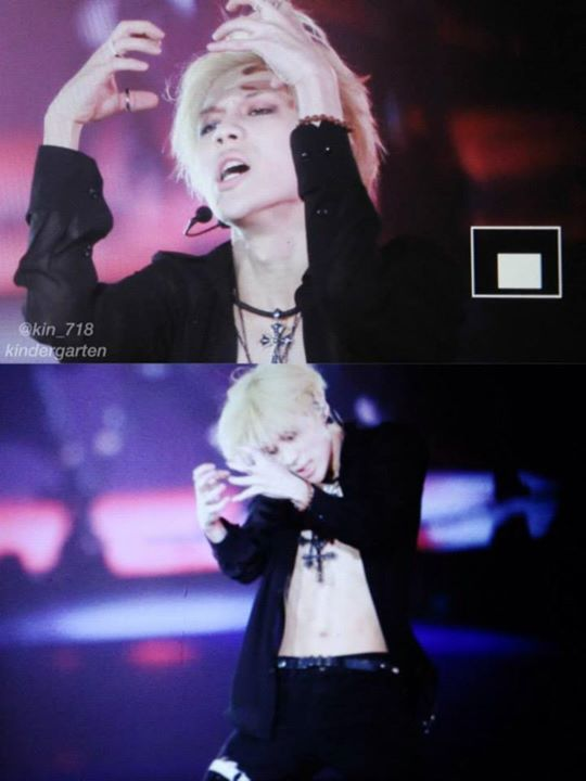 150315 SHINee Taemin - SHINee World 2014 I'm Your Boy Special Edition in Tokyo Dome, day 1 and 2