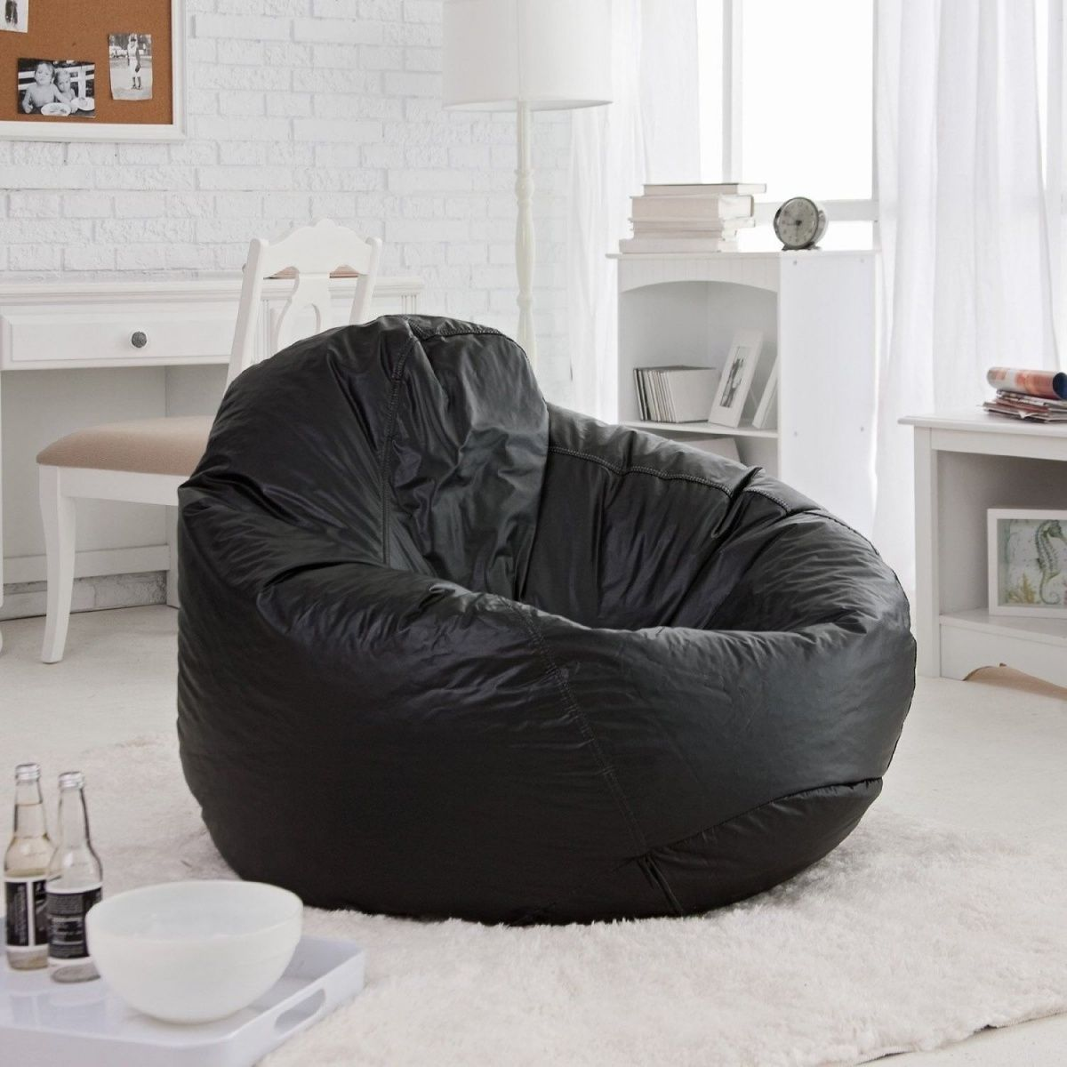 Large Bean Bag Chairs Cheap For Designing Your Home Is Possible Even You Can Add New Vibe In House As Put It At The Right Spot