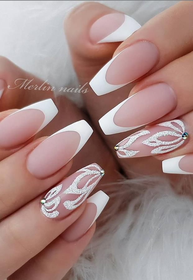 Glittering DIY Pink Square Nail Design, More Suitable For Spring and Summer 2020