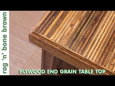 (21) Making A Plywood End Grain Table Top From Offcuts   Part 1 Of 2    YouTube