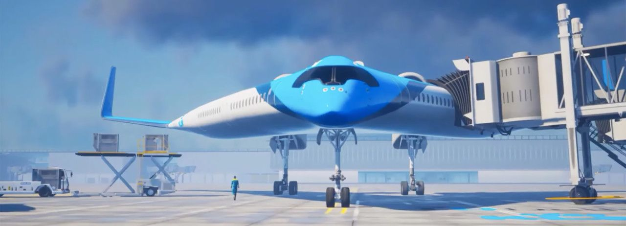 Sustainability Sets To Take Off With Klm Royal Dutch Airline S