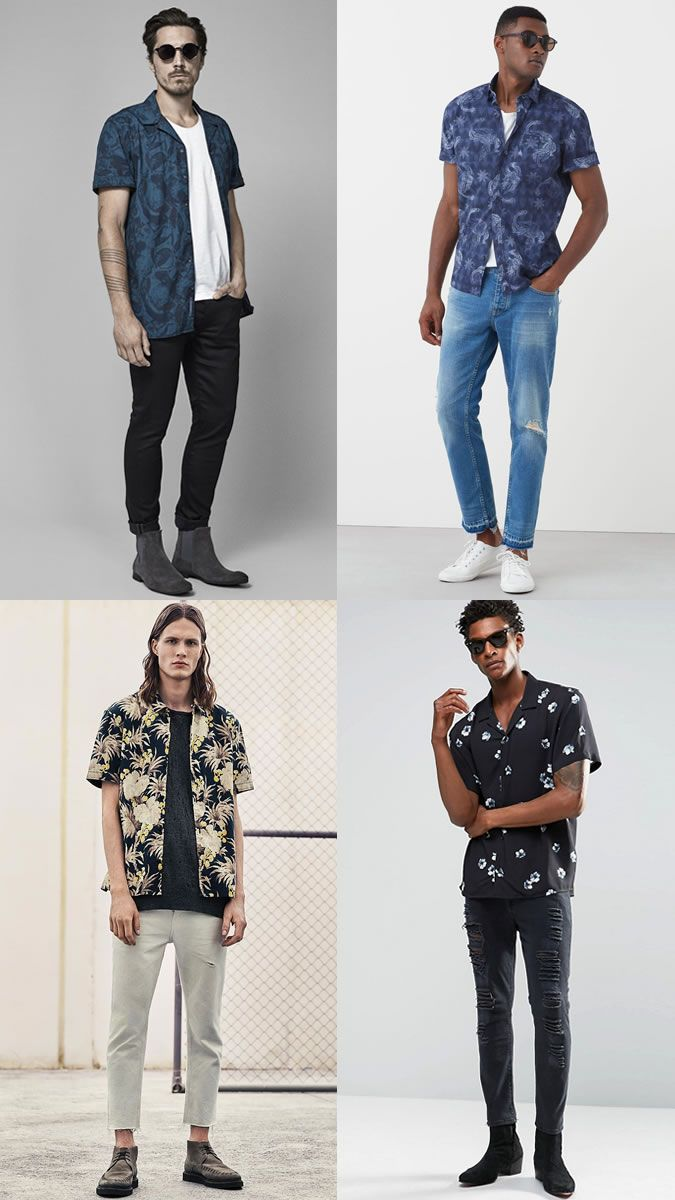 4594ffb7 Men's Floral Shirts for Summer Festival Outfit Inspiration Lookbook ...