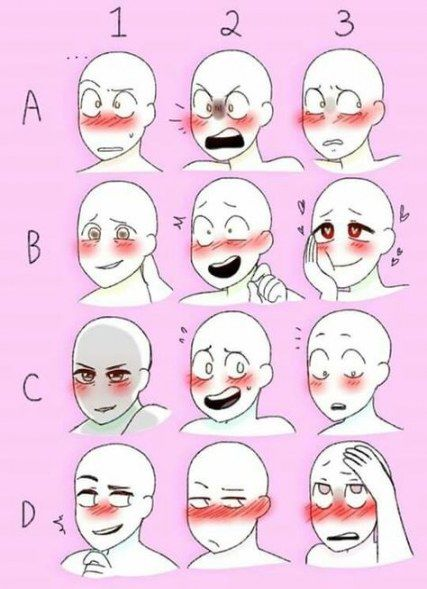 54 Ideas Drawing Reference Expressions Faces Drawing Expressions Anime Drawings Boy Drawings