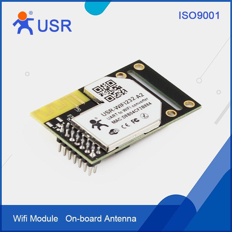 Q090 USR-WIFI232-A2 Pin Type Industrial Embedde Serial TTL UART to