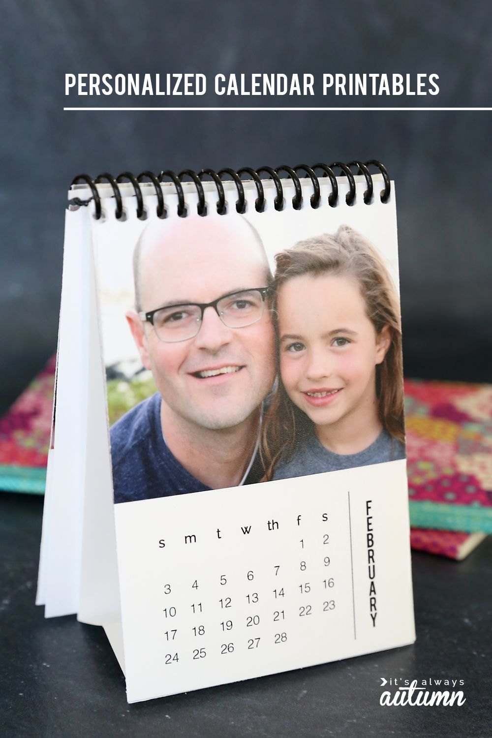 Diy Mini 2020 Photo Calendar Free Printable Templates Photo Calendar Diy Personalised Calendar Photo Calendar