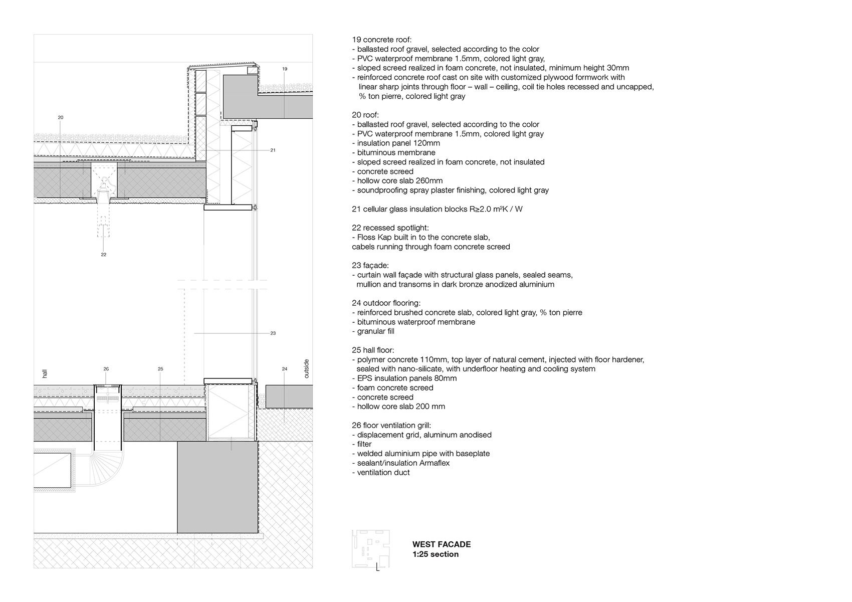 hight resolution of crematorium siesegem by kaan architecten