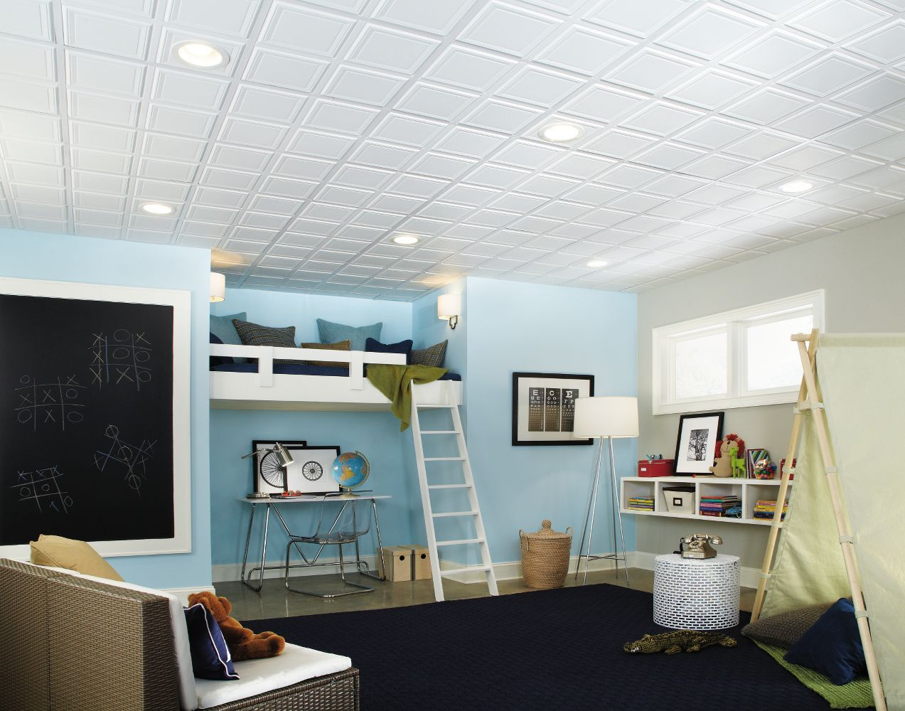1201 Raised Panel Is A Paintable Ceilings By Armstrong Add Visual