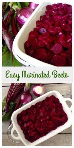 Easy Marinated Beets