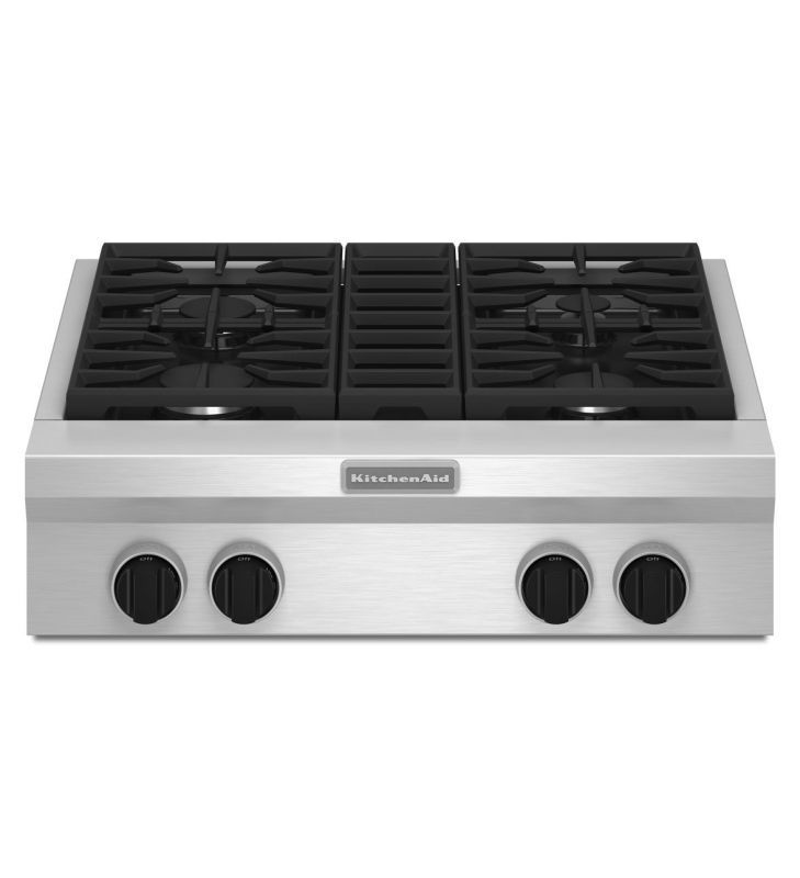 Kitchenaid 30 Electric Cooktop Front Zoom Electric Cooktop Kitchen Aid Cool Things To Buy