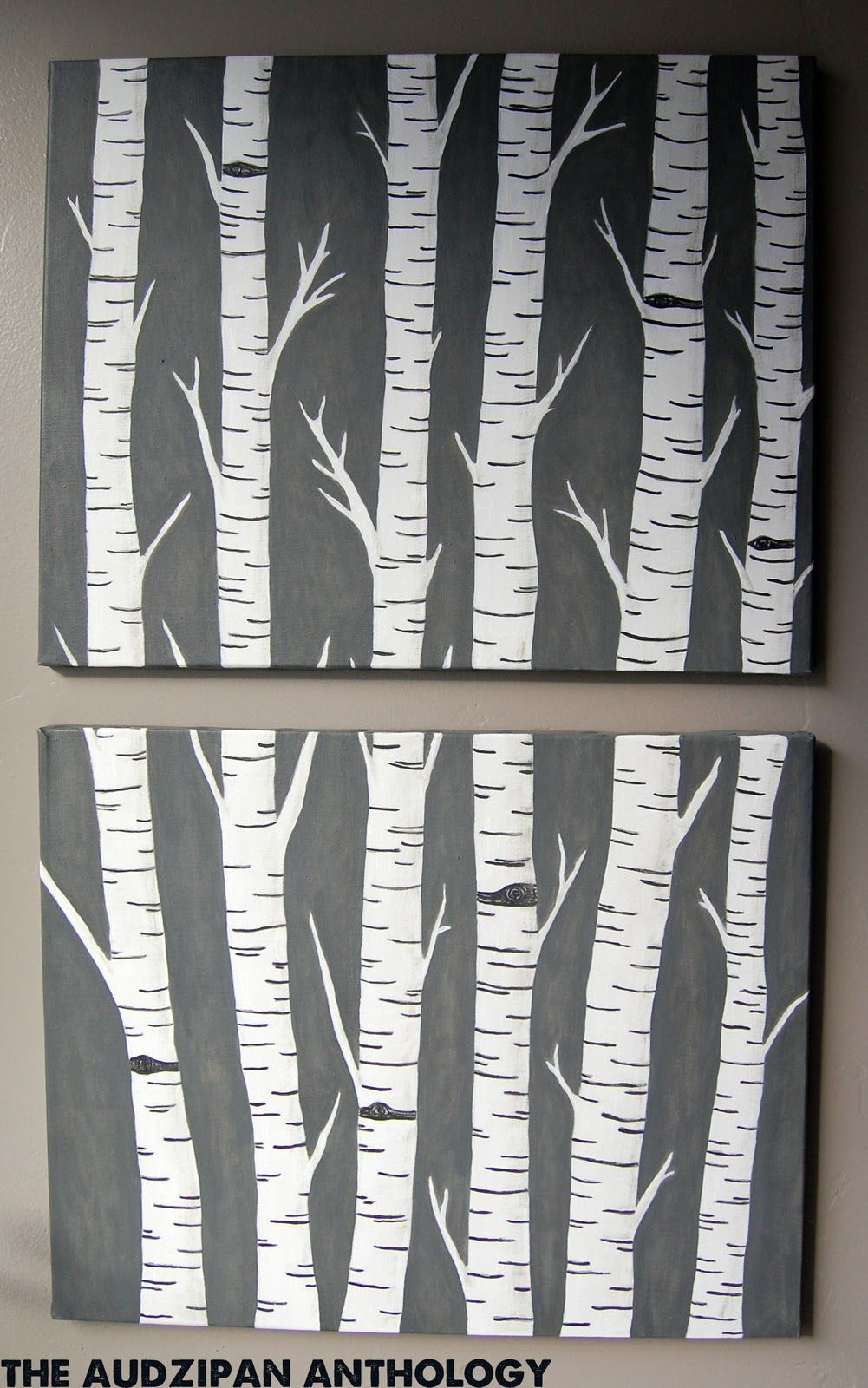 The Audzipan Anthology Birch Trees Art Birch Tree Art Tree Art Diy Tree Art