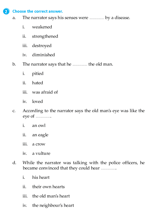 literature grade short stories the tell tale heart english literature grade 8 short stories the tell tale heart 7