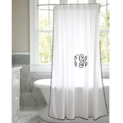 Audree Pom Pom Shower Curtain 79 Http Www Ballarddesigns Com