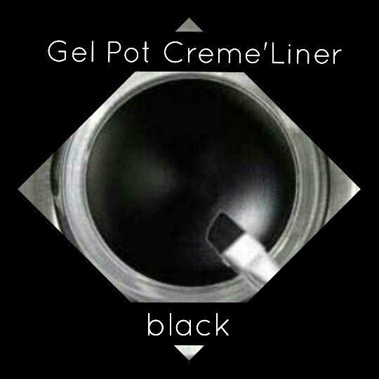 Vegan black gel eyeliner #vegan #makeup #crueltyfree #cosmetics