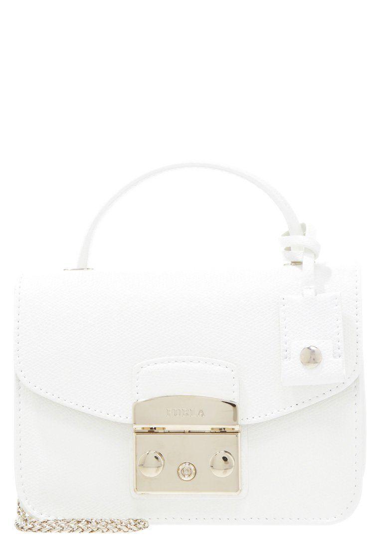 Furla METROPOLIS biała mała Torebka chalk | Mini torebki / Mini bags ...