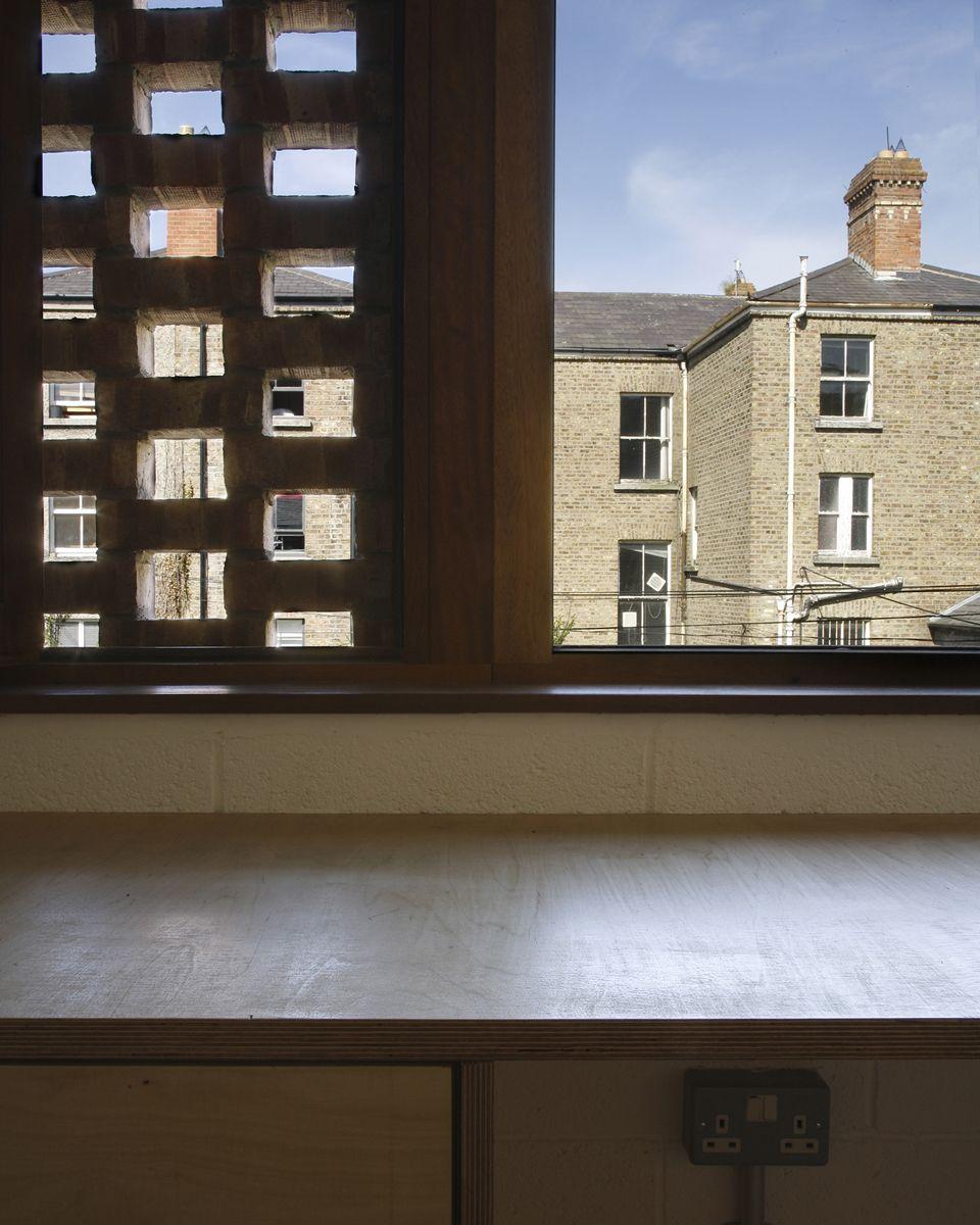 vue d\'un claustra depuis l\'interieur | Architecture | Pinterest