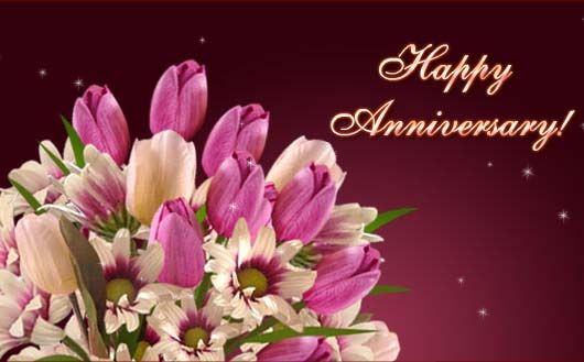 Greeting from anjali didi on our marriage anniversary 21st jan 2013