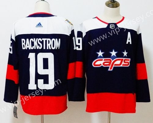 f69aad331f1 NHL Washington Capitals Royal Blue  19 Puck Jersey