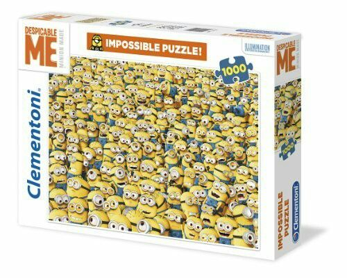 Impossible Puzzle Minions Jigsaw Puzzles Puzzle