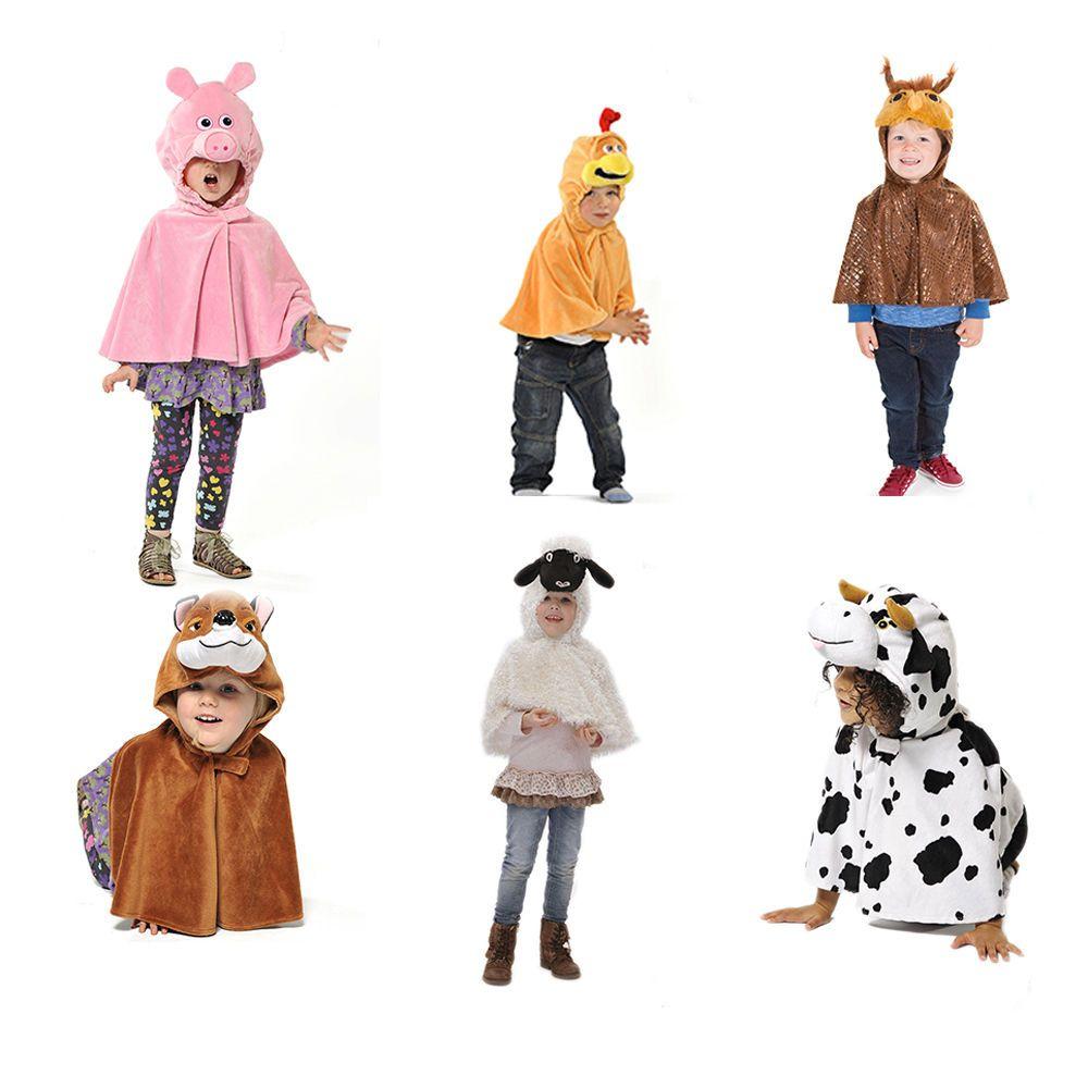 CHILDRENS KIDS CHILDS GIRLS BOYS CHICKEN CHICK FARM ANIMAL CAPE COSTUME AGE 3-6