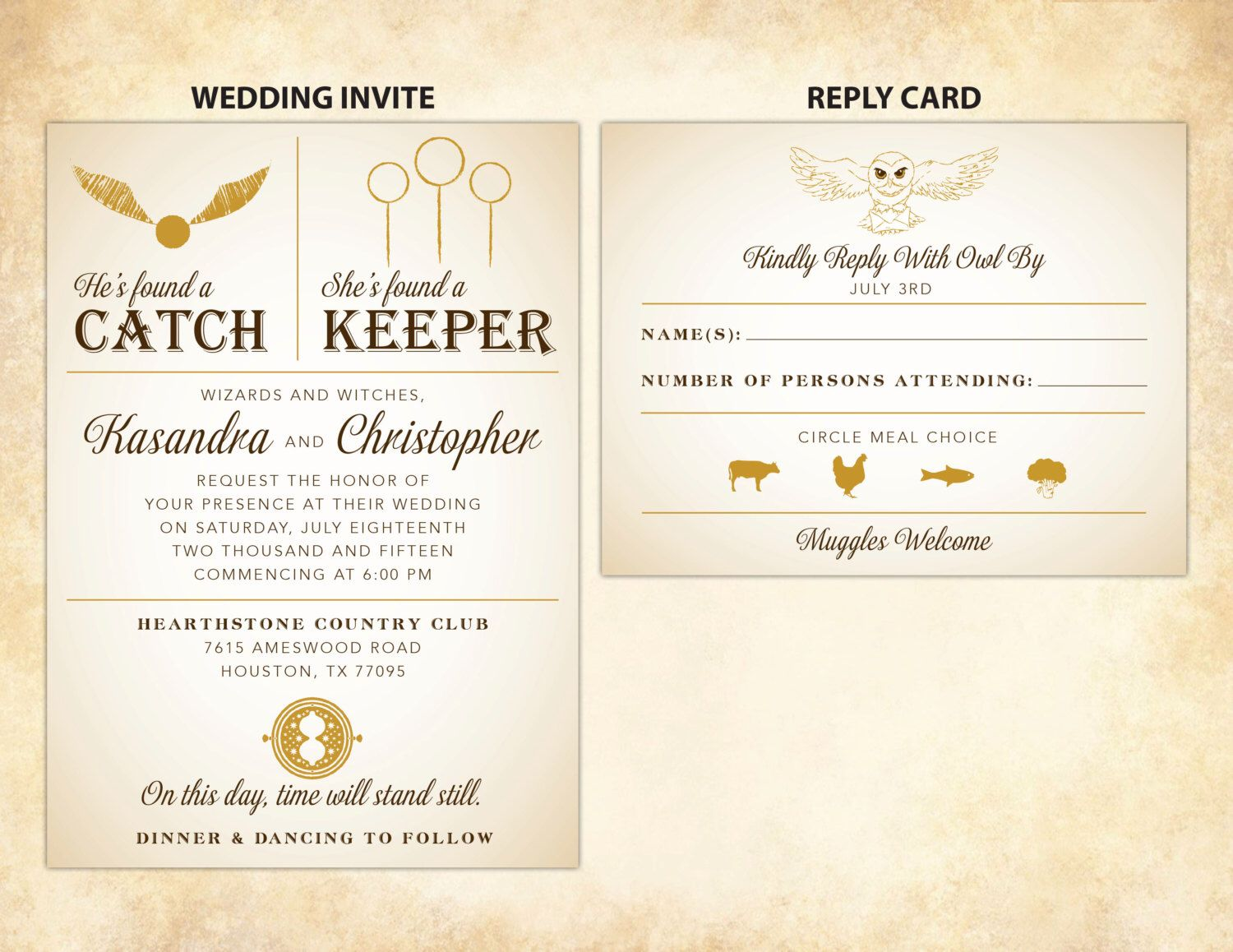 Harry Potter Wedding Invitation Rsvp Card Diy Printable Etsy In 2021 Harry Potter Wedding Invitations Harry Potter Wedding Harry Potter Wedding Theme