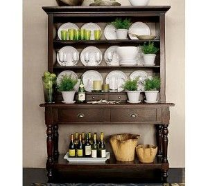 Hutch For Dinning Room Could Be Good Grannys One Day Green Dining