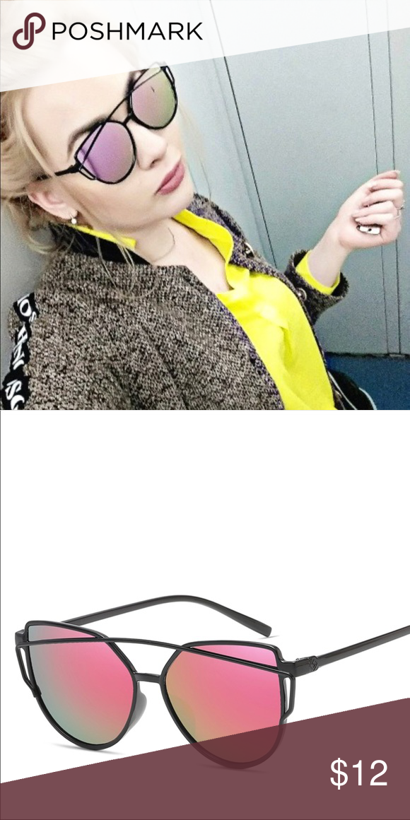 38f81bde69f7 Fashion Brand Cat Eye Sunglasses Women Twin-Beams Fashion Brand Cat Eye  Sunglasses Women Twin-Beams Accessories Sunglasses