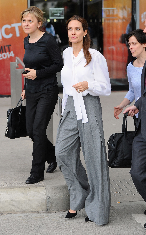 14 Li§µes De Styling De Angelina Jolie Estilo