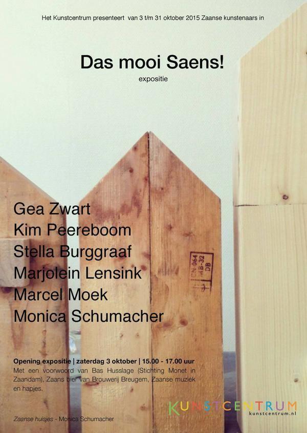 Das mooi Saens, 3-31 oktober 2015 Kunstcentrum.