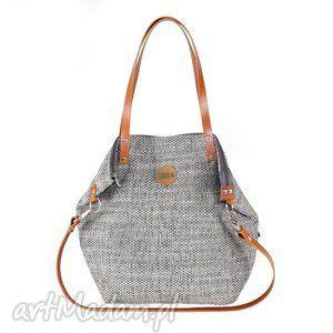 322e84f67112b pracownia mana torba worek grey carmel