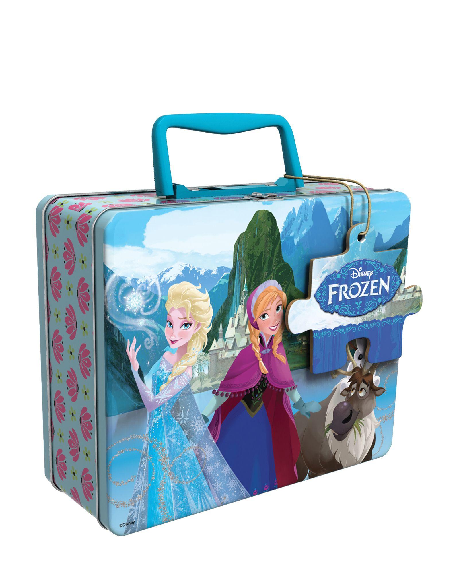 Frozen 48-Piece Tin Box Puzzle Set