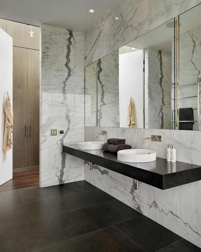 Beaucoup d\'idées en photos pour la salle de bain en marbre. | salle ...