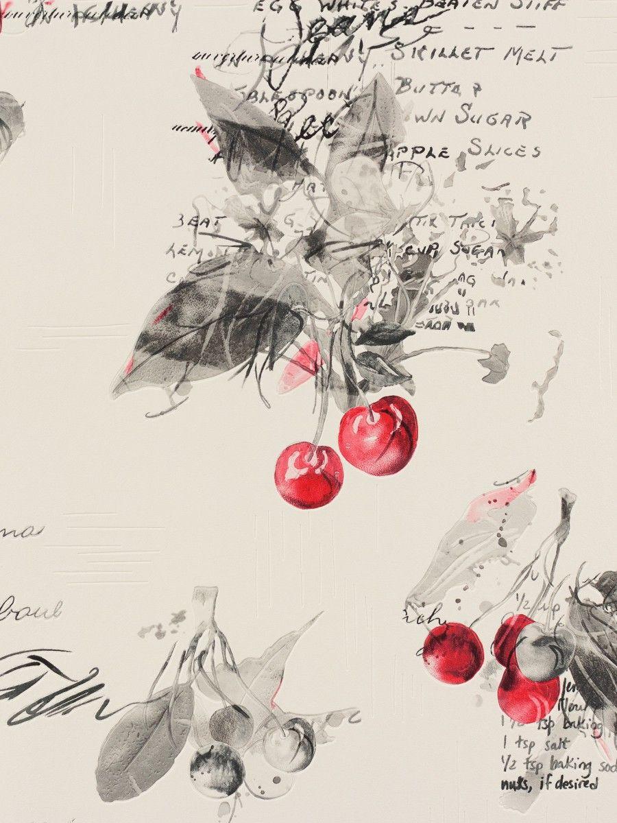 Rasch Aqua Deco 837513 weiss rot grau Tapeten, Weiße