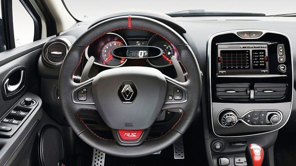 2016 renault clio rs interior latest modification picture. Black Bedroom Furniture Sets. Home Design Ideas