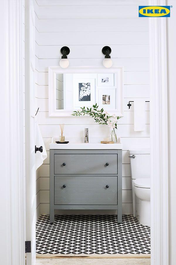 Pingl sur salle d 39 eau - Ikea conception salle de bain ...