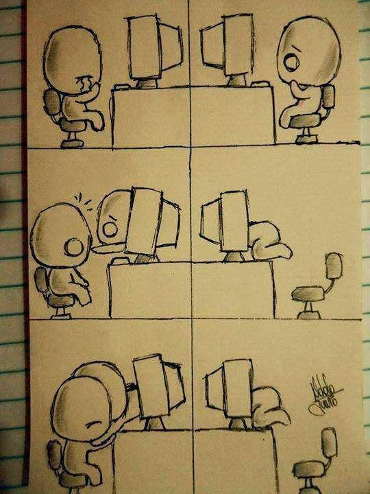 I know that feeling Virtual hug, Relationship drawings