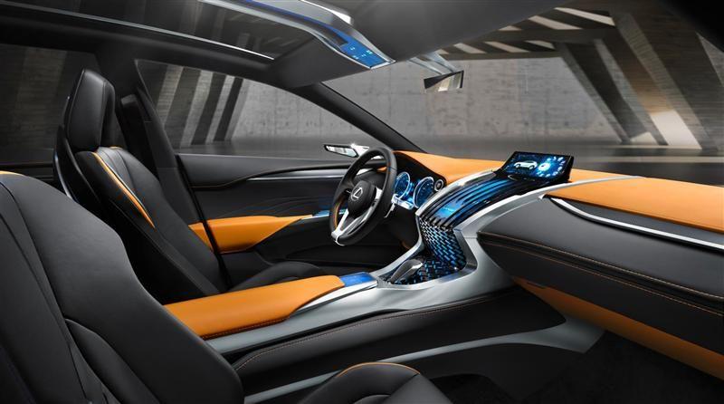 2013 Lexus LF-NX Crossover Concept   \