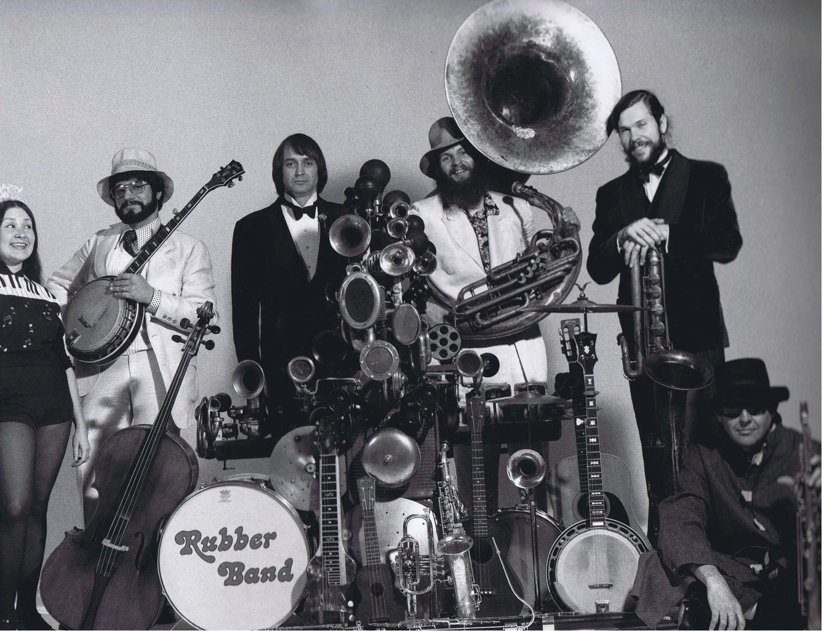 The Rubber Band with George Probert 1973