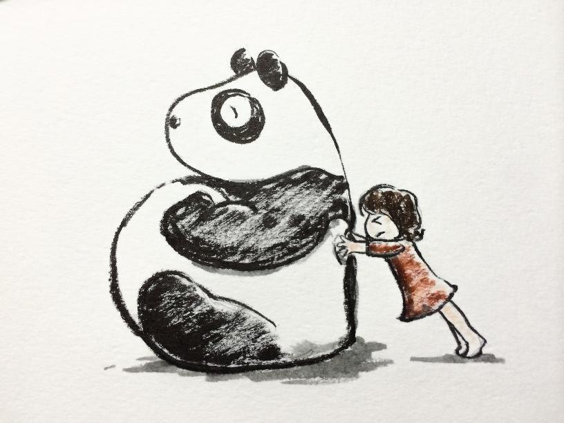 2013.11.21 【一日一大熊猫】 上野動物園のパンダは足腰を鍛えたりするために、 高い所から棒に刺した食べ物で「釣り」と呼ばれる トレーニングをするよ。 パンダもゴロゴロしてばかりいるわけではないんだね。