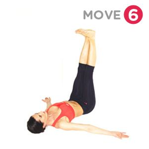 move 6  yoga pose  legs up the wall  yoga for every day