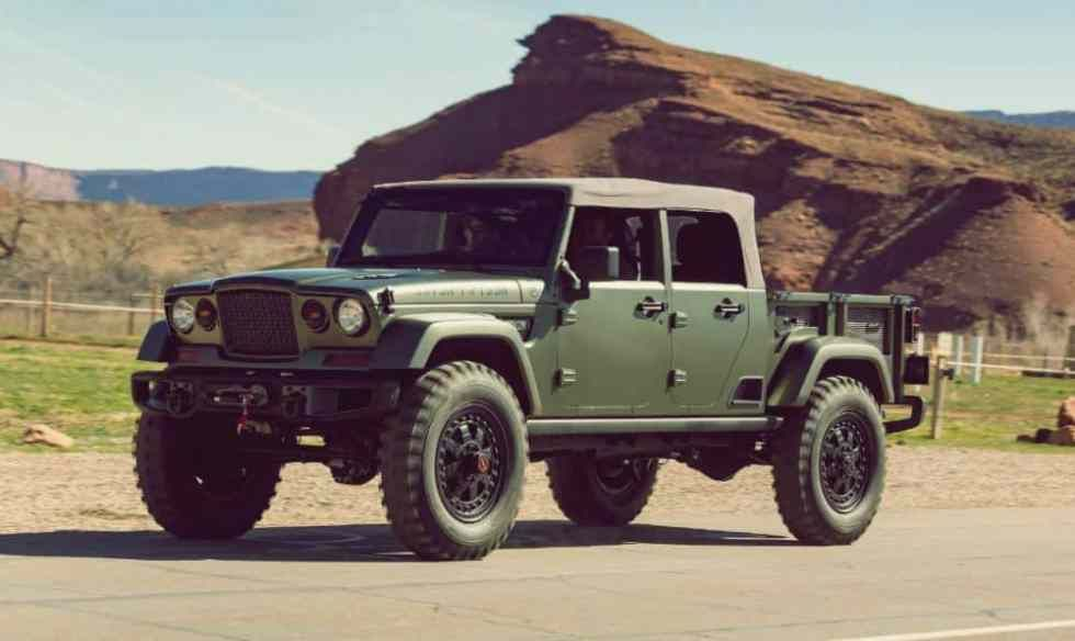 2019 Jeep Wrangler Pickup Truck Price Release Date Jeep