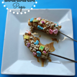 Lucky Charms Banana Pops (Fun Kid's Breakfast Snack)