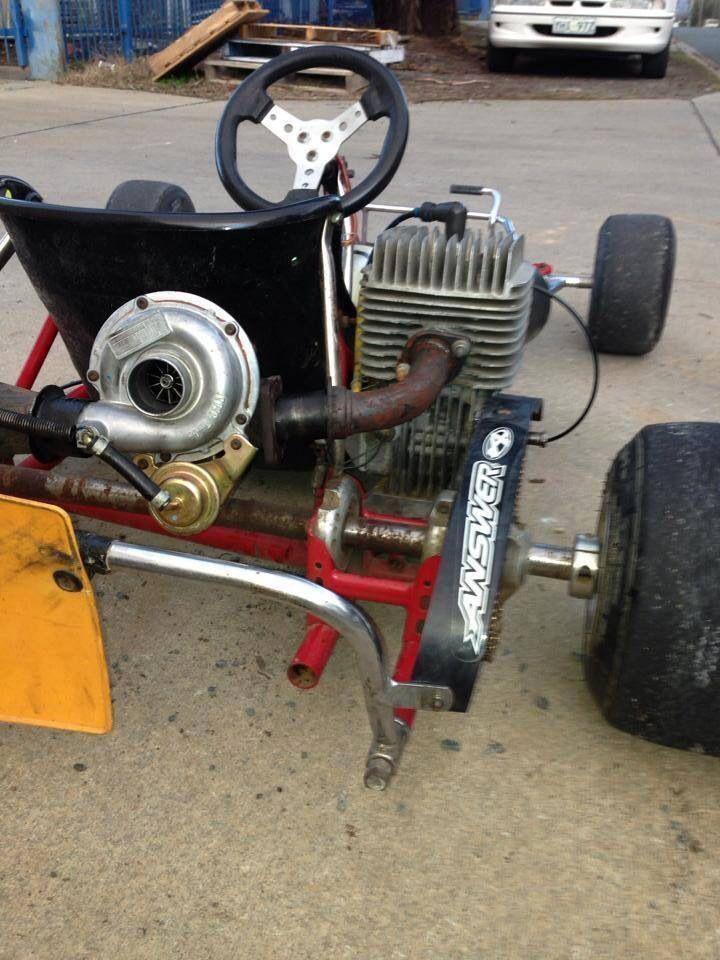 Turbo charged go-cart | GO KARTS | Pinterest